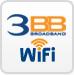 3BB WiFi ใช้งาน 3BB WiFi ไม่จำกัด (สำหรับลูกค้า 3BB ตั้งแต่ 1 ปีขึ้นไป)