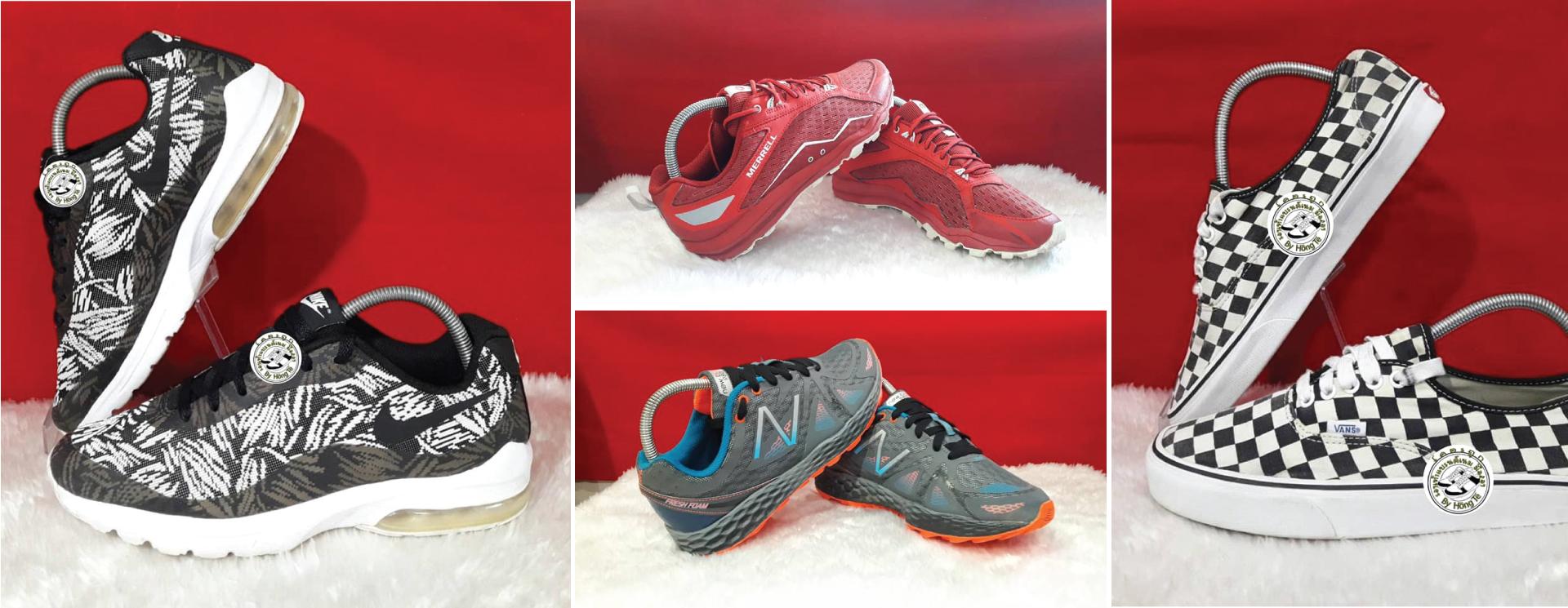 รองเท้าแบรนด์เนมมือสอง ปากน้ำโพ By Hong Te