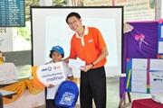 3BB รุกหน้าจัดกิจกรรม 3BB CSR โครงการบรอดแบนด์อินเทอร์เน็ตเพื่อการศึกษาฟรีทั่วประเทศที่โรงเรียนชุมชนวัดสระแก้ว จังหวัดนครศรีธรรมราช