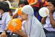 ทรีบรอดแบนด์จังหวัดนครศรีธรรมราช จัดกิจกรรม 3BB CSR มอบบรอดแบนด์อินเทอร์เน็ต เพื่อการศึกษาฟรี ให้แก่โรงเรียนบ้านชะเอียน