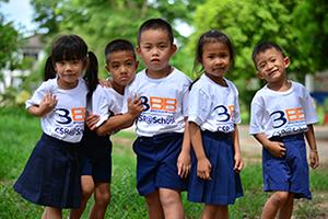 3BB จัดกิจกรรม CSR โรงเรียนชุมชนบ้านท่าแหน จังหวัดลำปาง