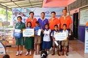 โครงการบรอดแบนด์อินเทอร์เน็ต เพื่อการศึกษาฟรี โรงเรียนสมาคมนักเรียนเก่าราชินี จ.กาญจนบุรี