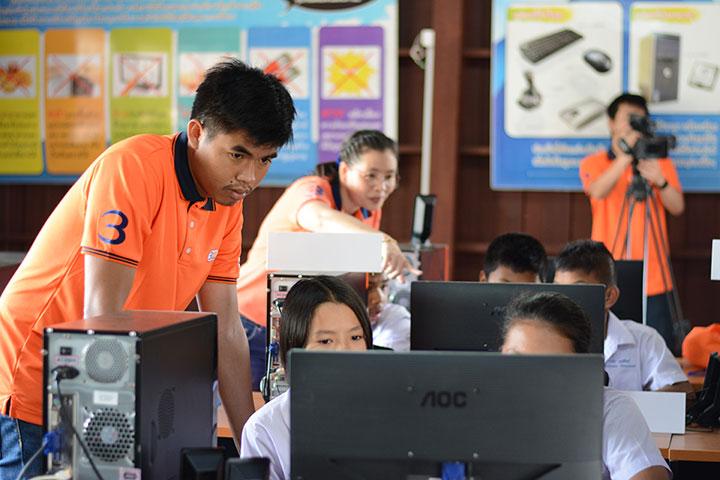 โครงการบรอดแบนด์อินเทอร์เน็ต เพื่อการศึกษาฟรี รร.ตชด.บ้านเขาฉลาด