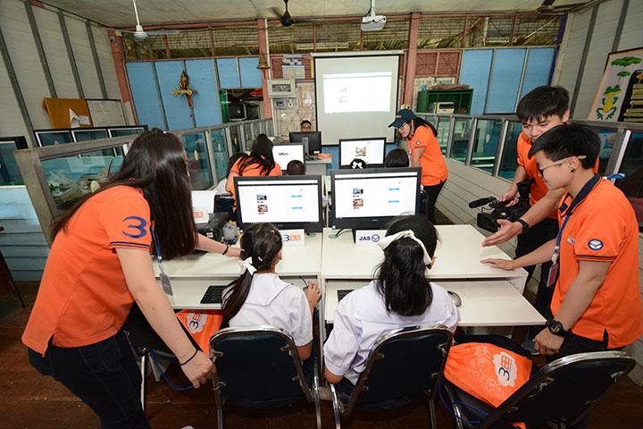 โครงการบรอดแบนด์อินเทอร์เน็ต เพื่อการศึกษาฟรี โรงเรียนบ้านท่าอวน อ.ตรอน จ.อุตรดิตถ์