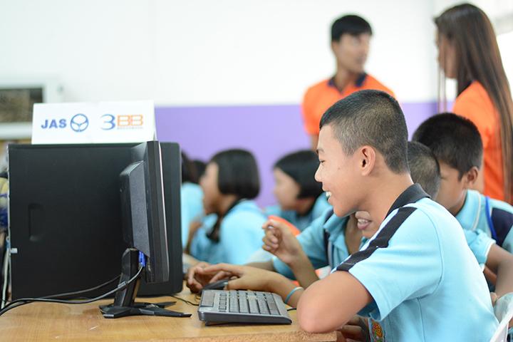 โครงการบรอดแบนด์อินเทอร์เน็ต เพื่อการศึกษาฟรี โรงเรียนบ้านทุ่งนุ้ย อ.ควันกาหลง จ.สตูล