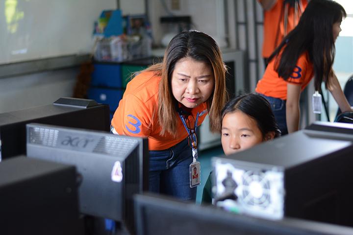 โครงการบรอดแบนด์อินเทอร์เน็ต เพื่อการศึกษาฟรี โรงเรียนบ้านป่าแดงงาม อ.พาน จ.เชียงราย